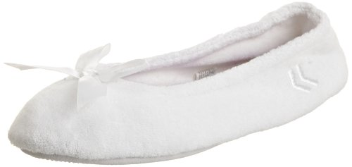 Cheap Isotoner Women's Terry Ballerina (B003ZUYC9W)