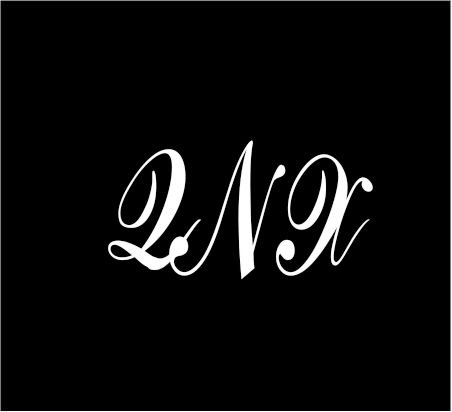 3-white-monogram-3-letters-qnx-initials-script-style-vinyl-decal-great-size-for-cups-or-use-on-any-s