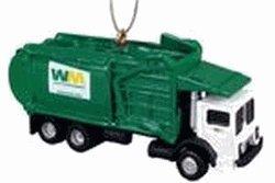 Waste Management Front Loader Truck Ornament (Waste Management Garbage Truck compare prices)