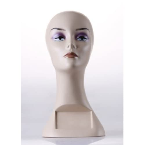 New Female Mannequin Head Display Bust For Jewelry, Wigs and Hats ZLXTT7