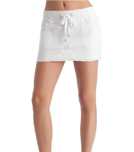 G by GUESS Eden Linen Skirt