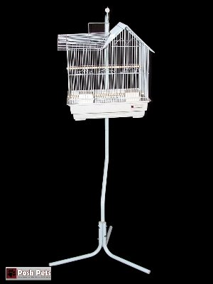 Cheap Posh Pets Bird Cage And Stand White Granite Fabio Bird Cage (TRYYU9)