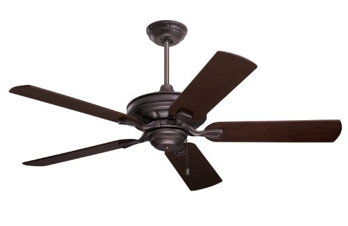 B003M3GO4S Emerson CF452ORB Bella Indoor Ceiling Fan, 52-Inch Blade Span, Oil Rubbed Bronze Finish