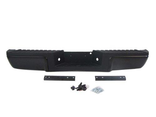 Aries AL15600-1 Black Aluminum Front Replacement Bumper Corner Set