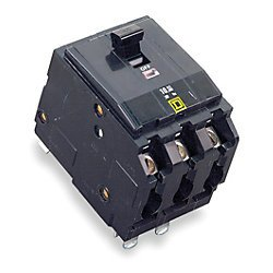 Square D Circuit Breaker, 100 Amp, 3-Pole, Qo3100