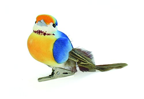 artemio-10-x-45-x-4-cm-3-piece-birds-on-clip-multi-colour