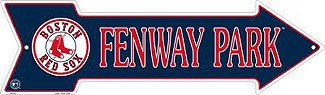 Fenway Park Boston Red Sox Metal Arrow Sign