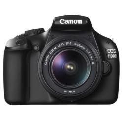 Canon EOS 1100D - Cámara Réflex Digital - Kit EFS 18-55 DC + EF 75-300 DC