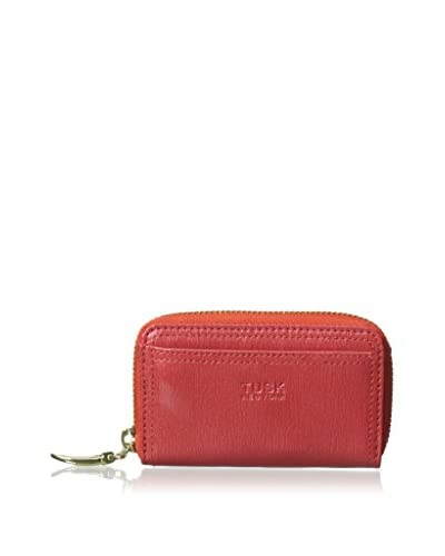 TUSK Women's Coin, Card Key Case, Coral
