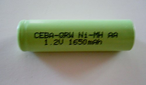 Combo: 2 Pcs - Nimh 1.2V Aa 1700 Mah Shaver Battery With Solder Tabs For Braun, Norelco, Remington Shaver Models