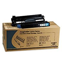 Konica-Minolta Magicolor 7300 Cyan High-Yield Toner Cartridge, 1710550004