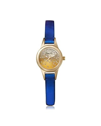 Nanette Lepore Women's 80707 Blue/Gold-Tone Alloy Watch