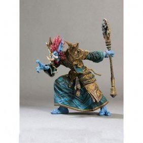 WOW World of Warcraft Series 2 Troll Priest Zabra Hexx Action Figure 7 Inch Limited Editon by PSK limited