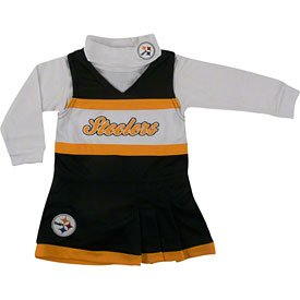 Pittsburgh Steelers Toddler Black Jumper & Turtleneck Set at Amazon.com
