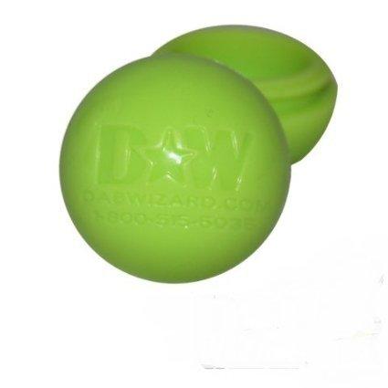 Light Green Silicone Goo Honey Non Stick Oil Wax Ball Jar