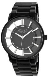 Kenneth Cole New York Black Skeleton Dial Men's watch #KC3994