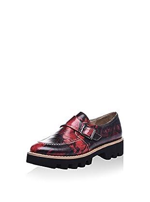 Isabelle Jaquelin Zapatos Monkstrap (Rojo / Negro)