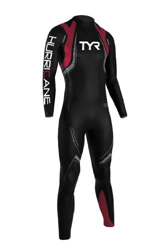 Tyr Hurricane Wetsuit Category 5 Male Black/Red X-Small