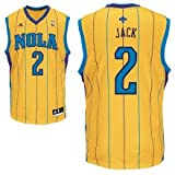Jarrett Jack New Orleans Hornets Yellow NBA Youth Revolution 30 Replica Jersey