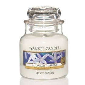 Yankee Candles Midnight Jasmine 3.7oz (104.9g) Small Jar Housewarmer