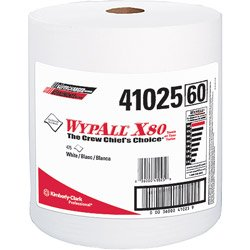 WypAll® X80 Shop Wipers - 475 Wipes per Roll