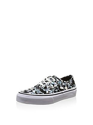 Vans Zapatillas Authentic (Negro / Blanco / Azul)