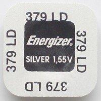 Energizer 379 - piles (Óxido de argent, Button/coin, 1.55 V, 16 mAh, argent, 5.8 mm)