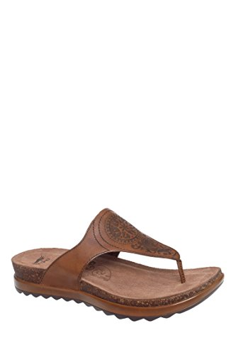 Priya Low Wedge Flip Flop Sandal