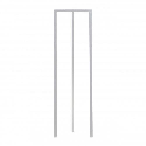 HAY Loop Stand Garderobe schmal, weiß 45x150x39cm
