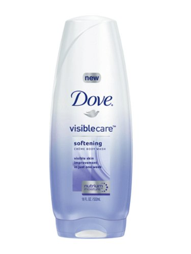 Dove Visible Care Softening Crème Body Wash, 18 Ounce