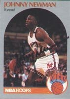 Johnny Newman New York Knicks 1990 Hoops Autographed Hand Signed Trading Card. by Hall of Fame Memorabilia
