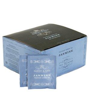 Harney & Sons Fine Teas Jasmine Fragrant Green Tea - 50 Teabags