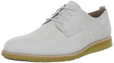 ECCO Men's Clayton Plain Toe Tie Fashion Sneaker,Shadow White,45 EU/11-11.5 M US