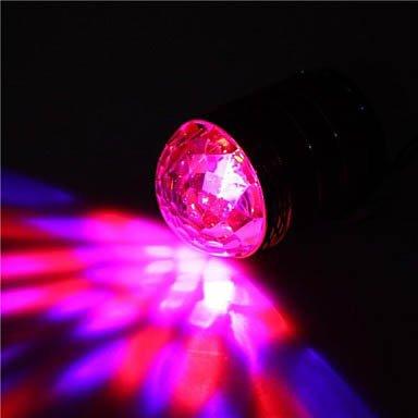 Pink Color F65 Fashion Led Lighting Portable Super Bass Speaker Tf Mp3 Aux