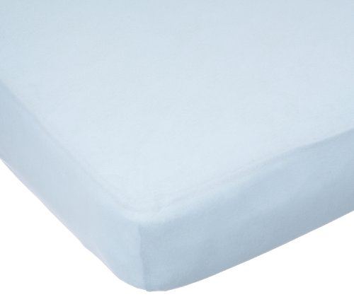 Carters Easy Fit Jersey Crib Fitted Sheet, Blue