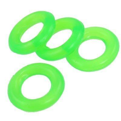 4 Stück Angelruten Pole grün Gummi Antirutsch Karpfenangeln Pelerine Ring de