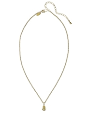 M&S Collection Gold Plated Canary Pear Pendent Necklace