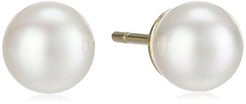 Majorica 6mm Pearl Stud Earrings