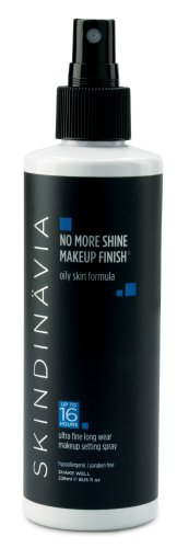 Skindinavia No More Shine Makeup Finish, 8 Ounce