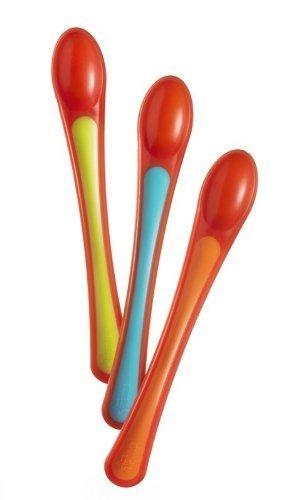 Tommee Tippee Explora Heat Sensing Weaning Spoons (3-Pack)