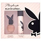Playboy Play It Lovely Gift Set 30ml EDT + 75ml Deodorant Spray