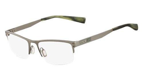 Nike Eyeglasses 8203 070 Dark Gunmetal/Olive Demo 53 18 140