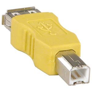 InstallerParts USB A-F/B-M Gender Changer - Female to Male Adapter