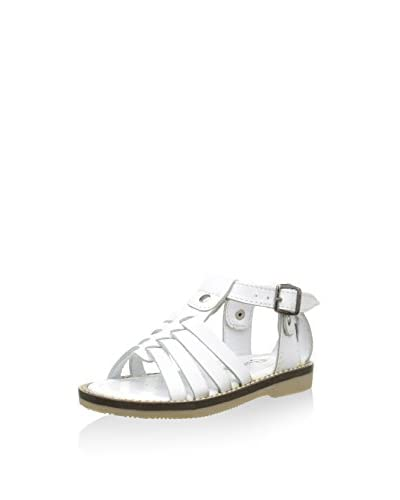 Billowy Sandalias planas Blanco