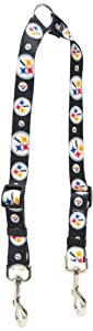 Yellow Dog Design Pittsburgh Steelers Licensed NFL Dog Coupler by Yellow Dog Design
