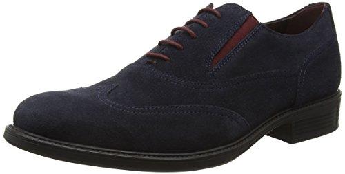 Geox Carnaby H, Scarpe Oxford Uomo, Blu (Navyc4002), 44 EU