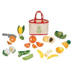 Garden Fresh Fruits and Veggies play set