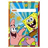 Spongebob Squarepants Party Gift Bags, 8ct
