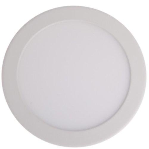 Allfivestars Ultra Thin Design 15W Led Ceiling Recessed Grid Downlight / Slim Round Panel Light Cool Light