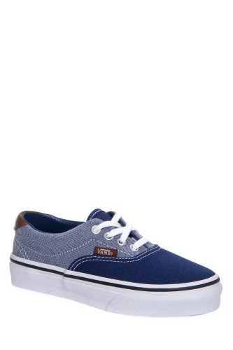 Vans Kids' Era 59 Canvas & Chambray Low Top Lace Up Sneaker